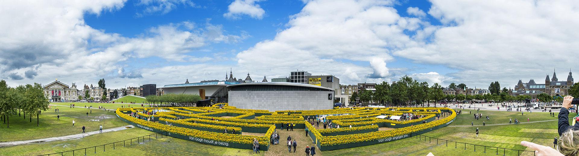 Labyrint van Gogh Museum